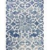 AMER Rugs Shibori Blue/White Area Rug