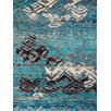 AMER Rugs Silkshine Blue Area Rug