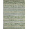 AMER Rugs Feza Apple Green Area Rug