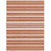 AMER Rugs Elana Flat-Weave Orange Area Rug