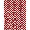 AMER Rugs Helena Hand-Tufted Red Area Rug
