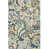 Jaipur Rugs Barcelona Blue/Taupe Paisley Indoor/Outdoor Area Rug