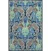 Jaipur Living Barcelona Blue & Ivory Floral Indoor/Outdoor Area Rug