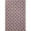 Jaipur Rugs Barcelona Purple/Taupe Geometric Indoor/Outdoor Area Rug