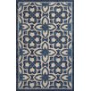 Jaipur Rugs Catalina Blue/Ivory Floral Indoor/Outdoor Area Rug