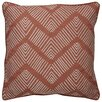 Jaipur Living Dekota Stitched Chevron Pattern Cotton Throw Pillow