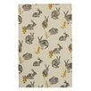 Ulster Weavers Block Print Rabbits Tea Towel