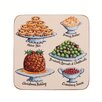 Ulster Weavers Christmas Feast Coaster (Set of 4)