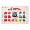 Ulster Weavers 74 cm x 48 cm Geschirrtuch Keep Knitting