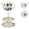 Ulster Weavers Rooster 4 Piece Bone China Tea Set