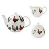 Ulster Weavers Rooster 3 Piece Bone China Tea Set