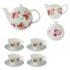 Ulster Weavers Vintage Kitchen 7 Piece Bone China Tea Set