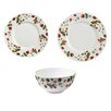 Ulster Weavers RHS Strawberry 24 Piece Dinnerware Set