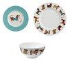 Ulster Weavers Hound Dog 12 Piece Dinnerware Set