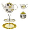 Ulster Weavers Dotty Sheep 4 Piece Bone China Tea Set