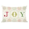 One Bella Casa Holiday Boho Joy Throw Pillow