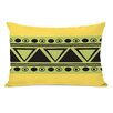 One Bella Casa Vila Aztec Triangles Lumbar Pillow