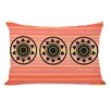 One Bella Casa Sol Aztec Lines Lumbar Pillow