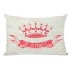 One Bella Casa Pretty Princess Lumbar Pillow
