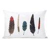 One Bella Casa Feathers Lumbar Pillow