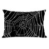 One Bella Casa All Over Spider Webs Throw Pillow