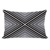 One Bella Casa Marks The Spot Geometric Lumbar Pillow
