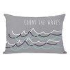 One Bella Casa Count the Waves Lumbar Pillow