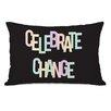One Bella Casa Celebrate Change Lumbar Pillow
