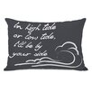 One Bella Casa High Tide Low Tide Lumbar Pillow
