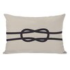 One Bella Casa Square Knot Lumbar Pillow