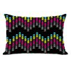 One Bella Casa Ziggy Triangle Lumbar Pillow