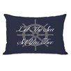 One Bella Casa Let The Sea Set You Free Lumbar Pillow