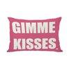 One Bella Casa Gimme Kisses Lumbar Pillow
