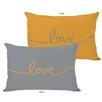 One Bella Casa Love Mix & Match Lumbar Pillow