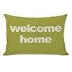 One Bella Casa Welcome Home Lumbar Pillow