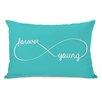 One Bella Casa Infinite Forever Young Lumbar Pillow