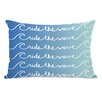 One Bella Casa Ride the Wave Lumbar Pillow