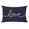 One Bella Casa Love Rope Lumbar Pillow