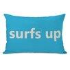 One Bella Casa Surfs Up Lumbar Pillow