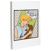 One Bella Casa Doggy Decor Why Can't Men Graphic Art on Wrapped Canvas