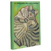 One Bella Casa Doggy Decor Better Together Graphic Art on Wrapped Canvas