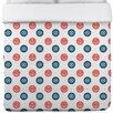 One Bella Casa Anchor Wheel Polka Dot Duvet Cover