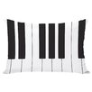 One Bella Casa Piano Lumbar Pillow