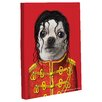 One Bella Casa Pets Rock Pop Graphic Art on Wrapped Canvas