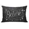 One Bella Casa Believe Lumbar Pillow