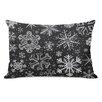 One Bella Casa Snowflake Variety Lumbar Pillow