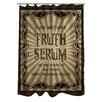 One Bella Casa Truth Serum Shower Curtain