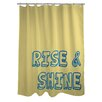 One Bella Casa Rise and Shine Shower Curtain