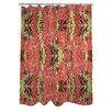 One Bella Casa Reptilian Light Shower Curtain