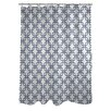 One Bella Casa Hisa 1 Geometric Shower Curtain